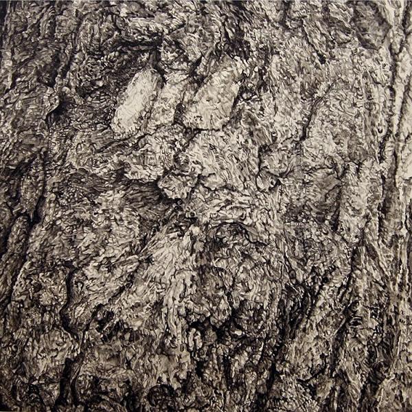 "TREE, Edinburgh, ©2010 acrylic on panel 12"" x 12"""